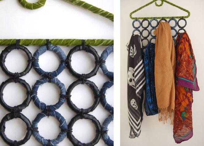 Porta foulard fai da te passionando - Organizadores hogar ...
