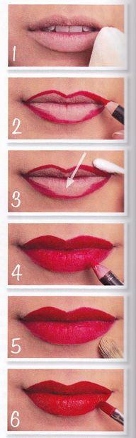 Come ottenere le labbra rosse perfette!