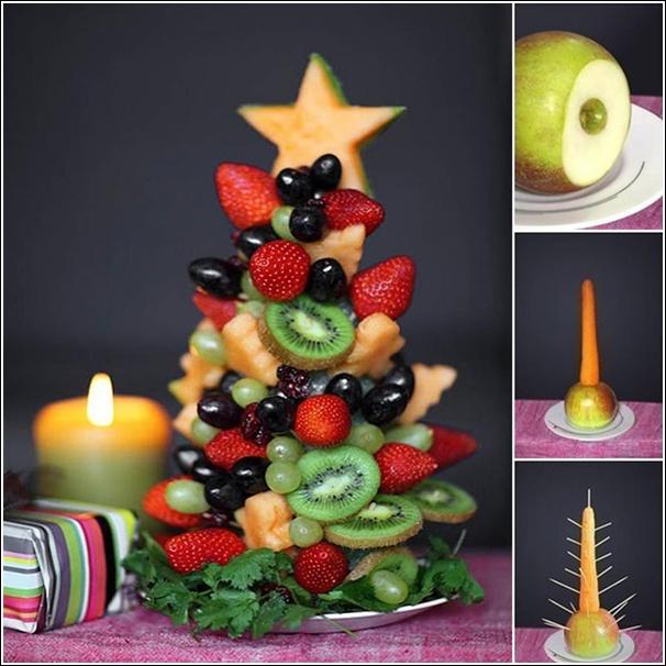 Albero di Natale alla frutta