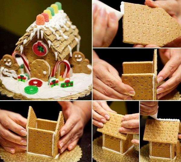 Casette Dolci Di Natale.Casetta Di Biscotti Natalizia Passionando