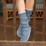 Come fare degli stivali pantofola da un vecchio maglione