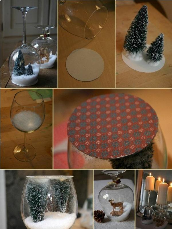 Stemware-Snow-Globes