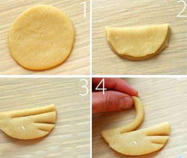 Biscotti a forma di cigno