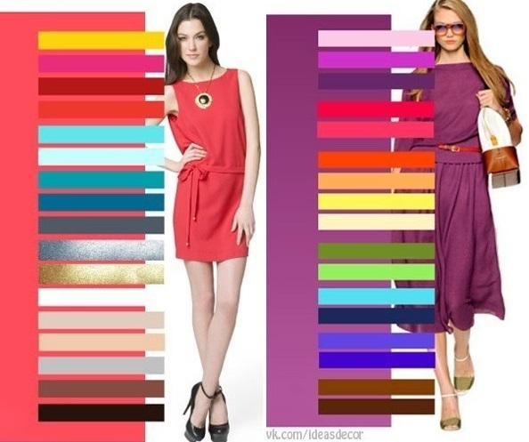 Abbinamento giusto tra i colori