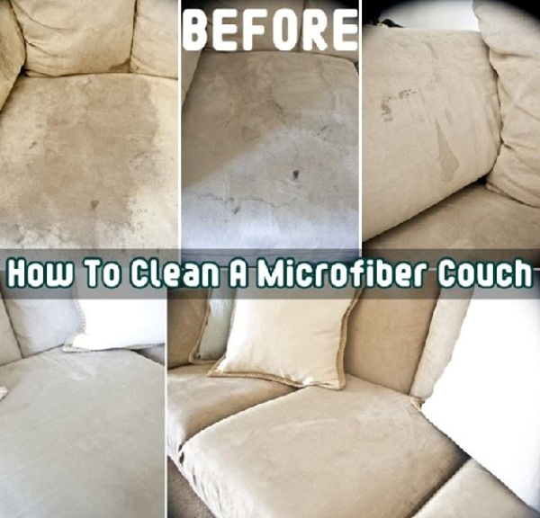 Come pulire il divano in microfibra | Passionando