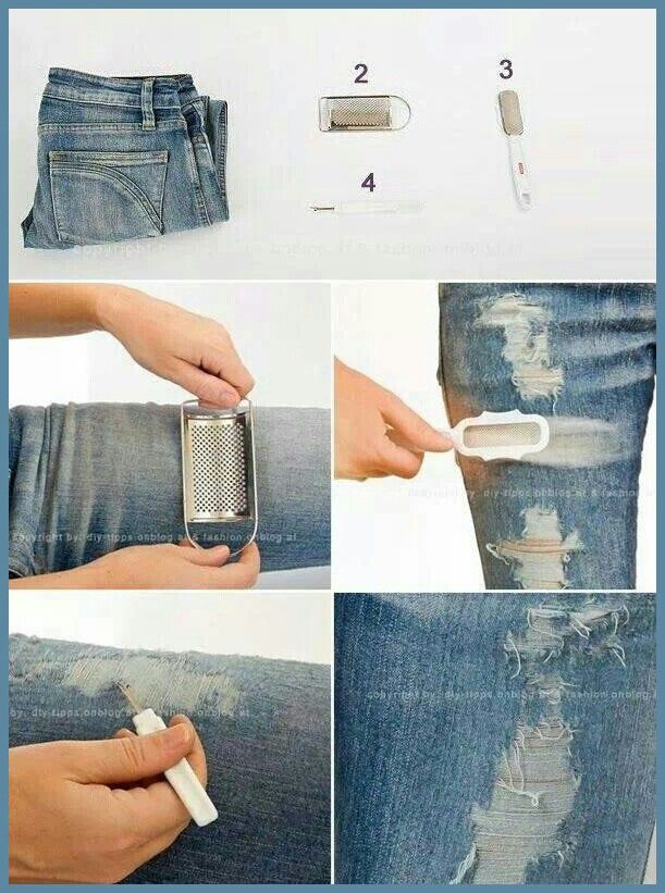 How-to-Make-Vintage-Looking-Jeans