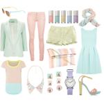 Come abbinare i colori pastello dei tuoi vestiti