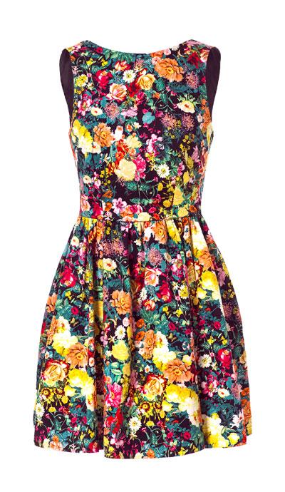 Vestito-stampa-floreale-a-pieghe-Zara-estate-2013