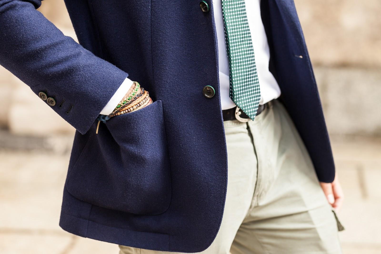 buy online 3617f 0502a Come indossare un blazer per l'uomo | Passionando