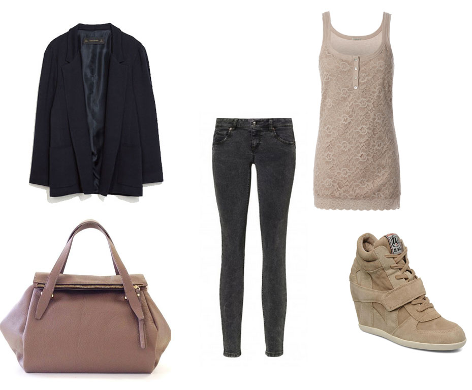 Outfit casual autunnale