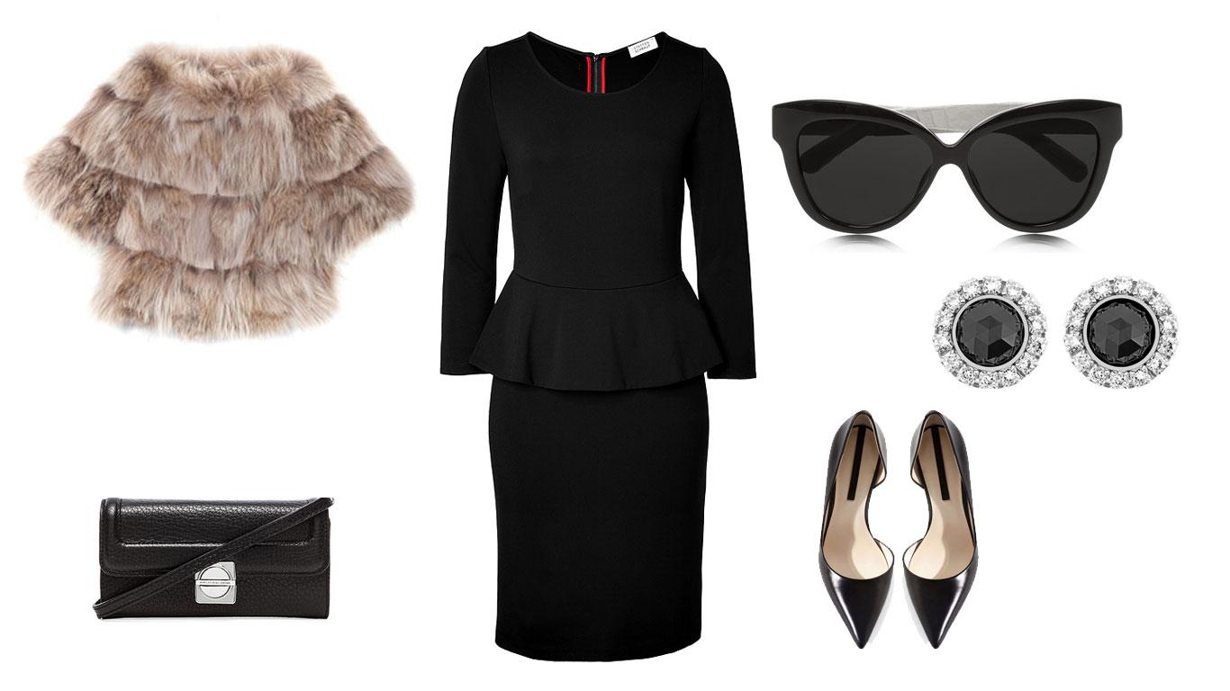 Outfit per una cerimonia autunnale