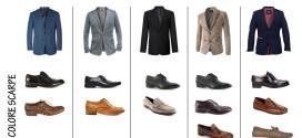 Abbinamento del colore giusto tra blazer-giacca e scarpe