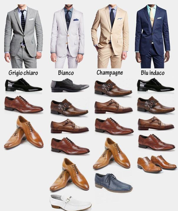 Ben noto Abbinamento del colore giusto tra abito e scarpe | Passionando BP76