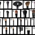Guida per i pennelli make-up